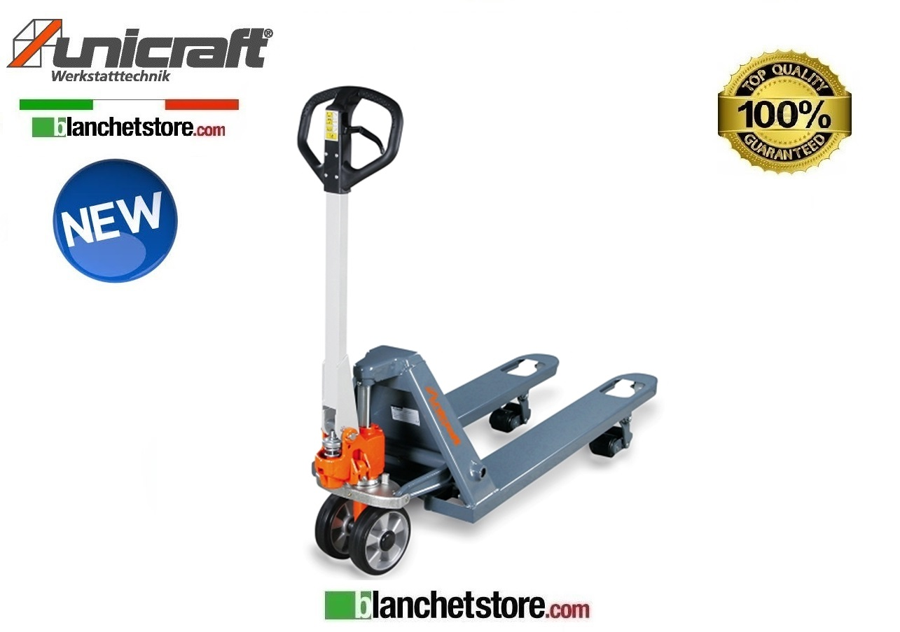 TRANSPALLET MANUALE UNICRAFT PHW FORCHE 1150MM PORTATA 2.5 TON